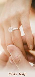 Evlilik teklifi hediyesi